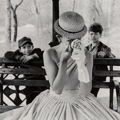 Frank Paulin, 'Model, Central Park', 1955