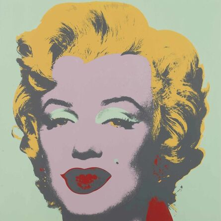 Andy Warhol, 'Marilyn: one plate', 1967