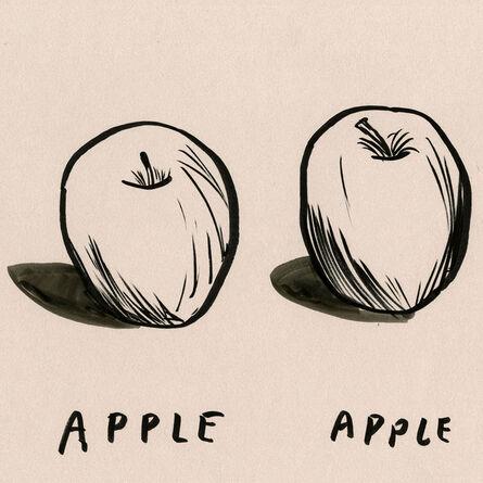 Dave Eggers, 'Untitled (Apple, Apple, Stolen Spoon)', 2020