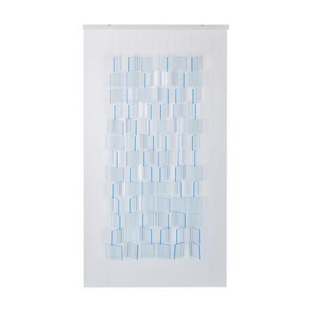 Julio Le Parc, 'Mobile Bleu Translucide', 2017
