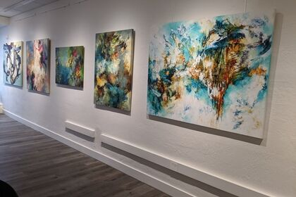 California Girls - All -Female Exhibition of 4 California Based Artists