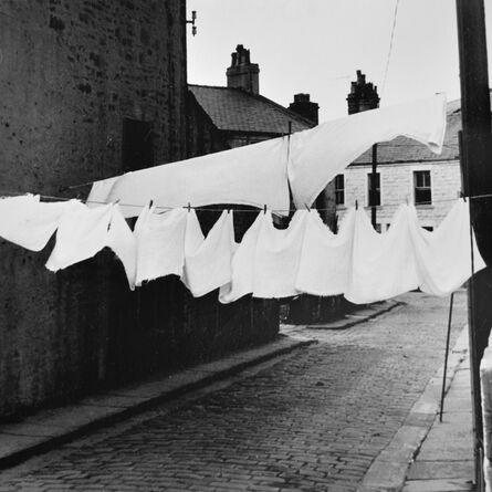 Fran May, 'Nappies on washing line, Sheffield', 1974
