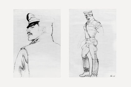 TOM OF FINLAND / EXHIBITION IN CONJUNCTION WITH TOM HOUSE: THE WORK AND LIFE OF TOM OF FINLAND AT MOCA DETROIT
