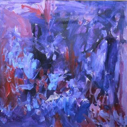 Jean-Paul Mousseau, 'Mauve impénitent', 1977