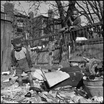 Gordon Parks, 'Two Boys Playing, Washington D.C.', 1942