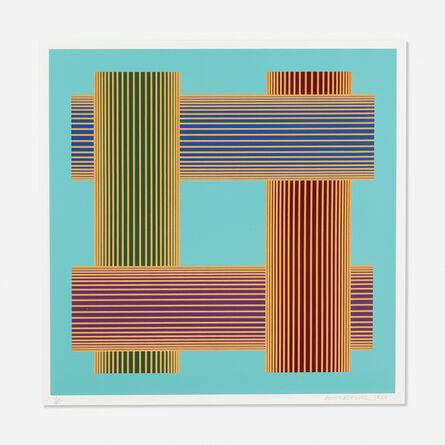 Richard Anuszkiewicz, 'Untitled (Translumina with Turquoise)', 1986