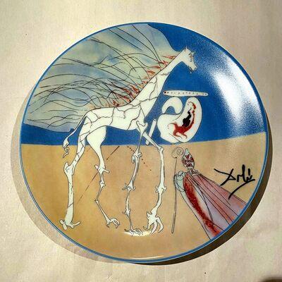 Salvador Dalí, 'Girafe Saturnienne', 1984