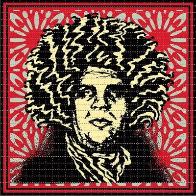 Shepard Fairey, 'Psychedelic André (CLASSIC RED OBEY GIANT VARIANT)', 2020