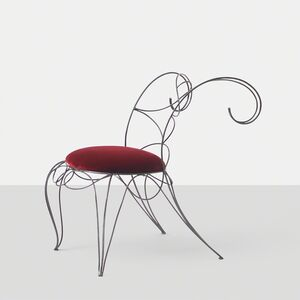 André Dubreuil, 'Andre Dubreuil Ram Side Chair', 1980-1989