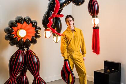 Don't Talk To Strangers Brecht Wright Gander Solo Exhibition