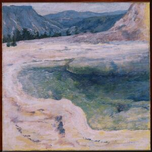 John Henry Twachtman, 'The Emerald Pool', ca. 1895