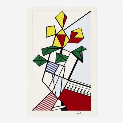 Roy Lichtenstein, 'Flowers', 1973