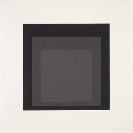 """Josef Albers, 'Homage to the Square (Sheet 9 from the 10 portfolio """"Homage to the Square"""")', 1970"""