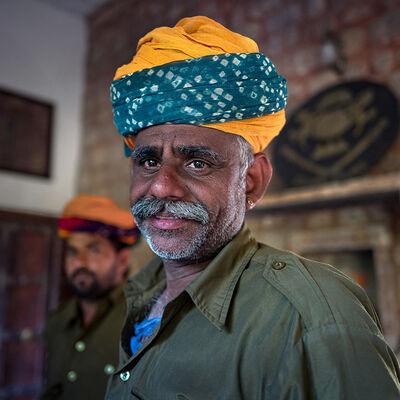 Neil O. Lawner, 'Portrait #7 India', 2020