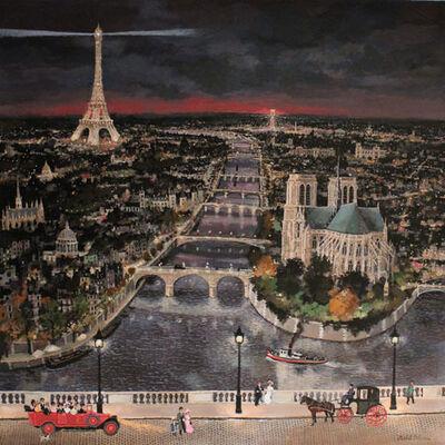 Michel Delacroix, 'Paris, à vol d'oiseau', 2017