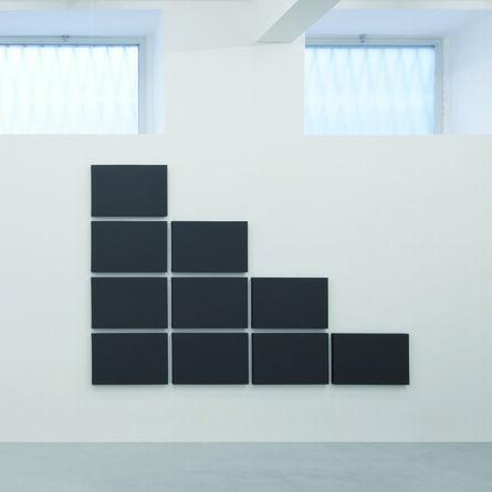 Alan Charlton, 'Triangle Grid Painting', 2011