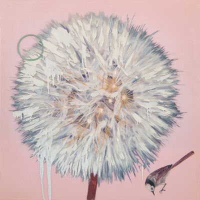 Hung Liu 刘虹, 'Dandelion - Pink', 2021