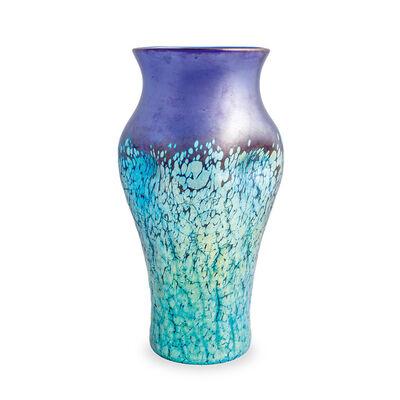 Loetz, 'Cobalt Phenomen Gre 377 vase Loetz crackle glass ca. 1900', ca. 1900