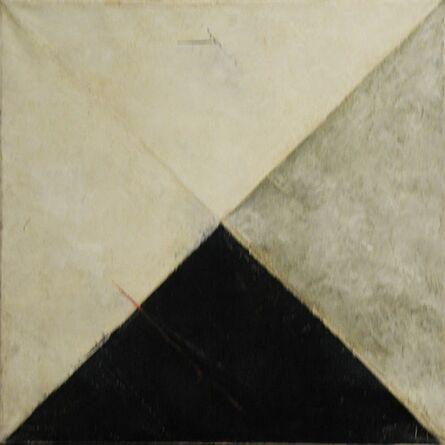 Vijay Shinde, 'Untitled (Grey and Black Abstraction)'