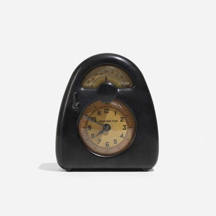 Stevenson Mfg. Co., 'Measured Time Clock And Kitchen Timer', c. 1932