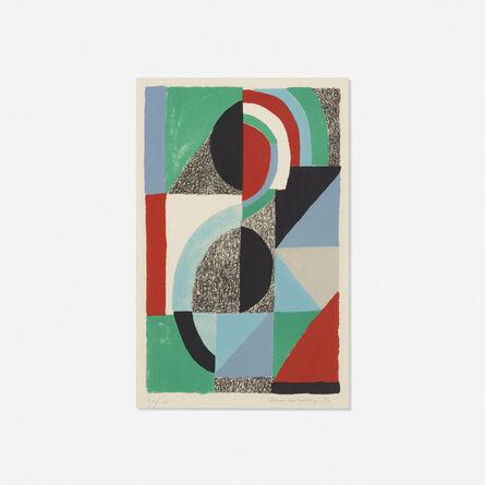 Sonia Delaunay, 'Icone', 1967