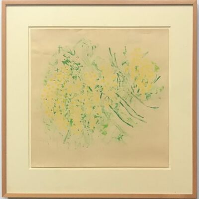 Beauford Delaney, 'Bouquet de Mimosas', 1978