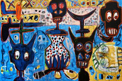 African Avant-Garde: Aboudia and Frédéric Bruly Bouabré