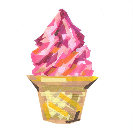 Chien-Yi Wu, 'Goods Icon - Red Beans Soft Serve', 2014