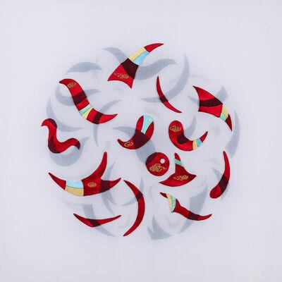 Leslie Nguyen Temple, 'Kinetic Mandala Abstract Series - 5 Elements 旋舞的曼陀羅 抽象作品系列 - 五元素', 2017-2018