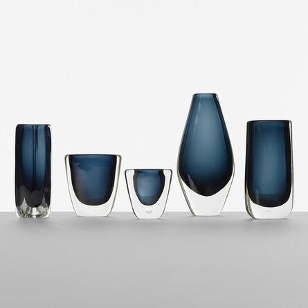 Nils Landberg, 'Collection of five vases', c. 1955
