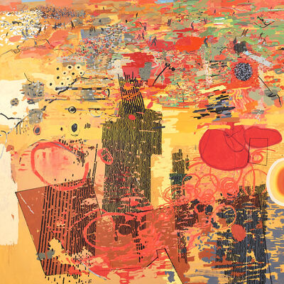 Clive van den Berg, 'Landscape (kind of)', 2016