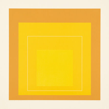 Josef Albers, 'WLS X, from White Line Square (Series II) (G. 11, D. 172.2)', 1966