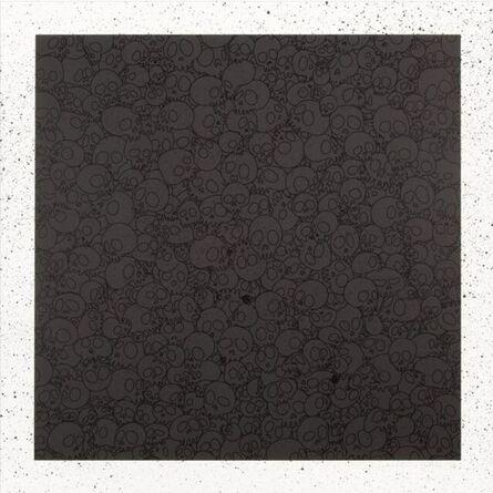 Takashi Murakami, 'Black Skulls Square for BLM', 2020