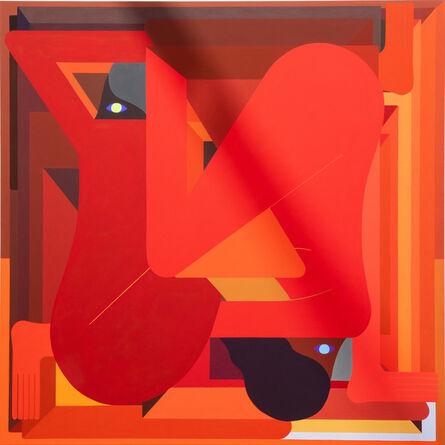 Richard Colman, 'LA Painting (red)', 2018