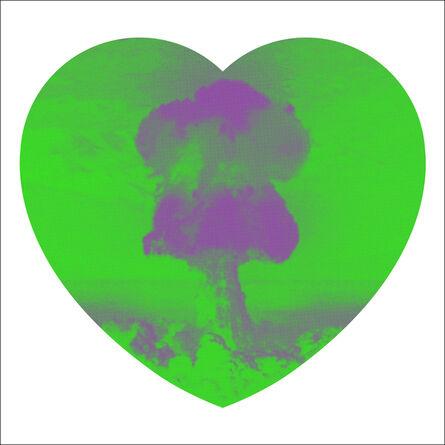 Iain Cadby, 'Love Bomb (Green and Purple)', 2019