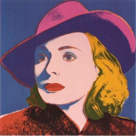 Andy Warhol, 'Ingrid Bergman with Hat', 1983