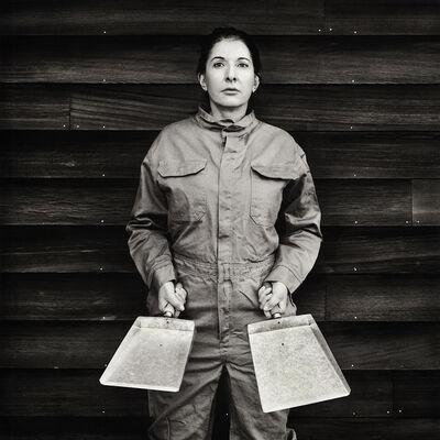 Marina Abramović, 'The cleaner', 2017