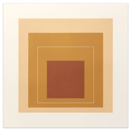 Josef Albers, 'White Line Squares (Series II), XVI ', 1966