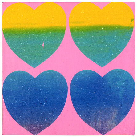 Andy Warhol, 'Four Hearts', 1983