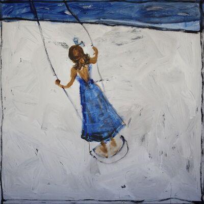 John Maitland, 'Girl on a swing I', 2014