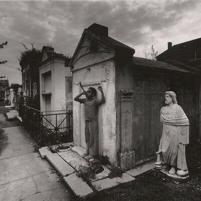 Arthur Tress, 'Cemetery Festival, Louisana', 1974/1974c