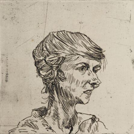 Ludwig Meidner, 'Erna Glaser', ca. 1921