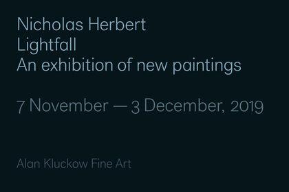Lightfall - New paintings by Nicholas Herbert