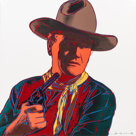 Andy Warhol, 'John Wayne (from Cowboys and Indians)', 1986