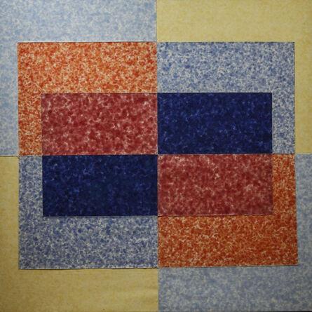 Howard Mehring, 'Mirage Double', 1962