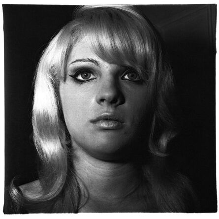 Diane Arbus, 'Blonde girl with shiny lipstick, NYC', 1967
