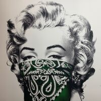 "Mr. Brainwash, 'Marilyn Monroe 2020 ""STAY SAFE""  Cornia Virus Edition 2020 COVID-19', 2020"