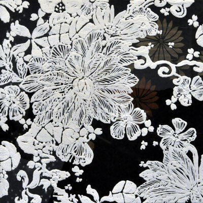 Shinji Ohmaki, 'Echoes - Crystallization Flower(black)', 2014