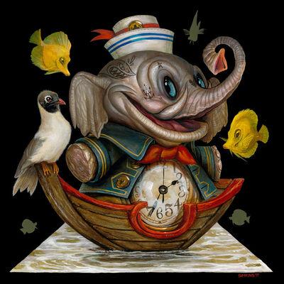 Greg 'Craola' Simkins, 'Time to Float', 2017