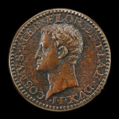 Domenico di Polo di Angelo de' Vetri, 'Cosimo I de' Medici, 1519-1574, Duke of Florence 1537, later Grand Duke of Tuscany 1569 [reverse]'